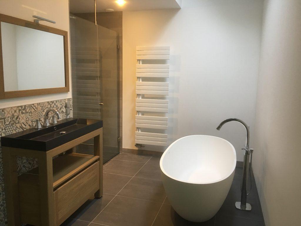 Badkamer bij slaapkamer Bennekom - Wiesenekker Badkamerconcepten