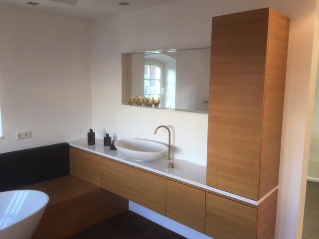 Retro badkamer renovatie Wageningen-hoog - Wiesenekker Badkamerconcepten