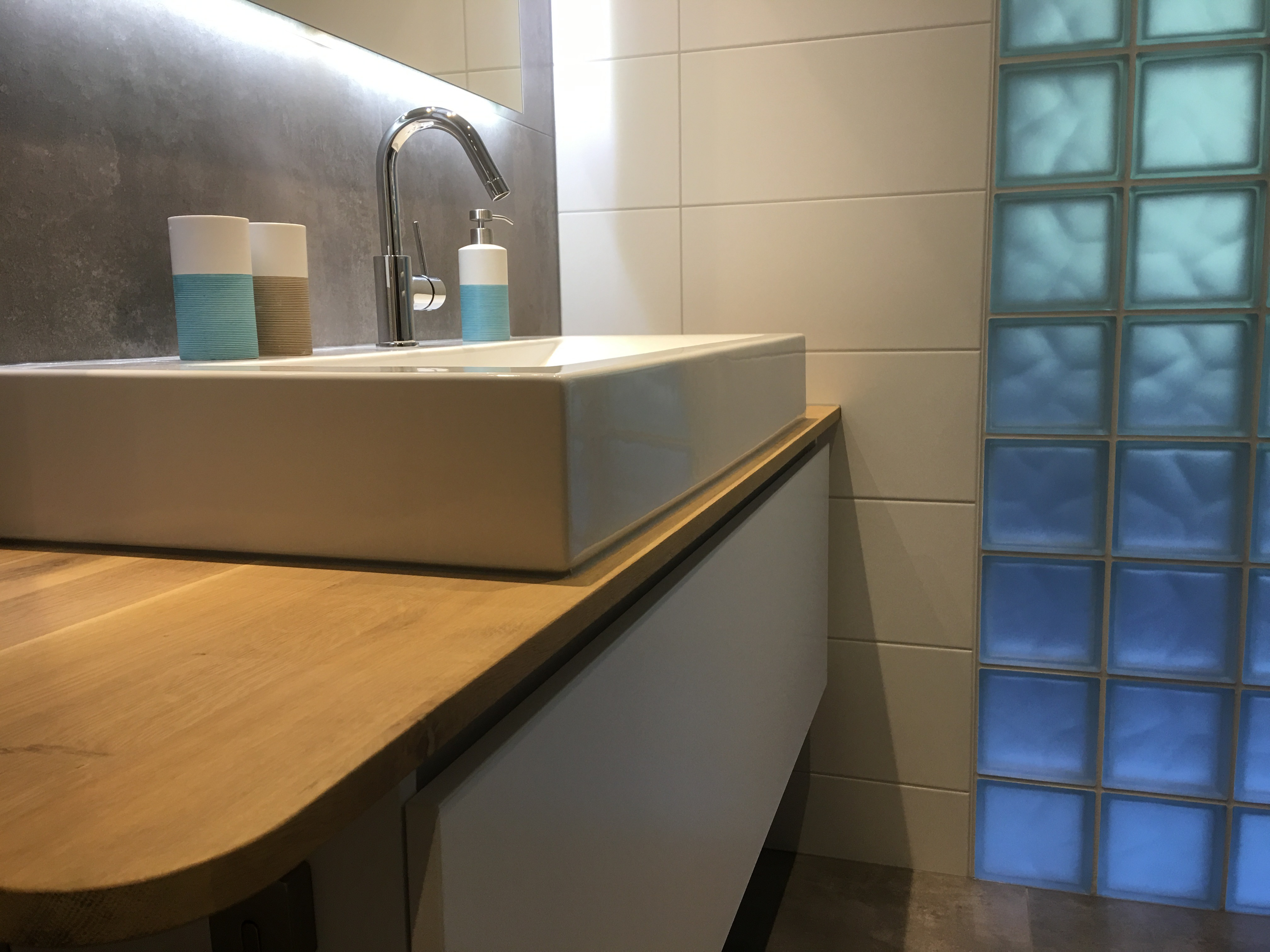 Glasblokken In Badkamer : Img wiesenekker badkamerconcepten