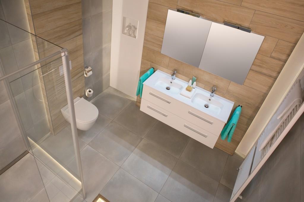Badkamer strak ontwerp - Wiesenekker Badkamerconcepten