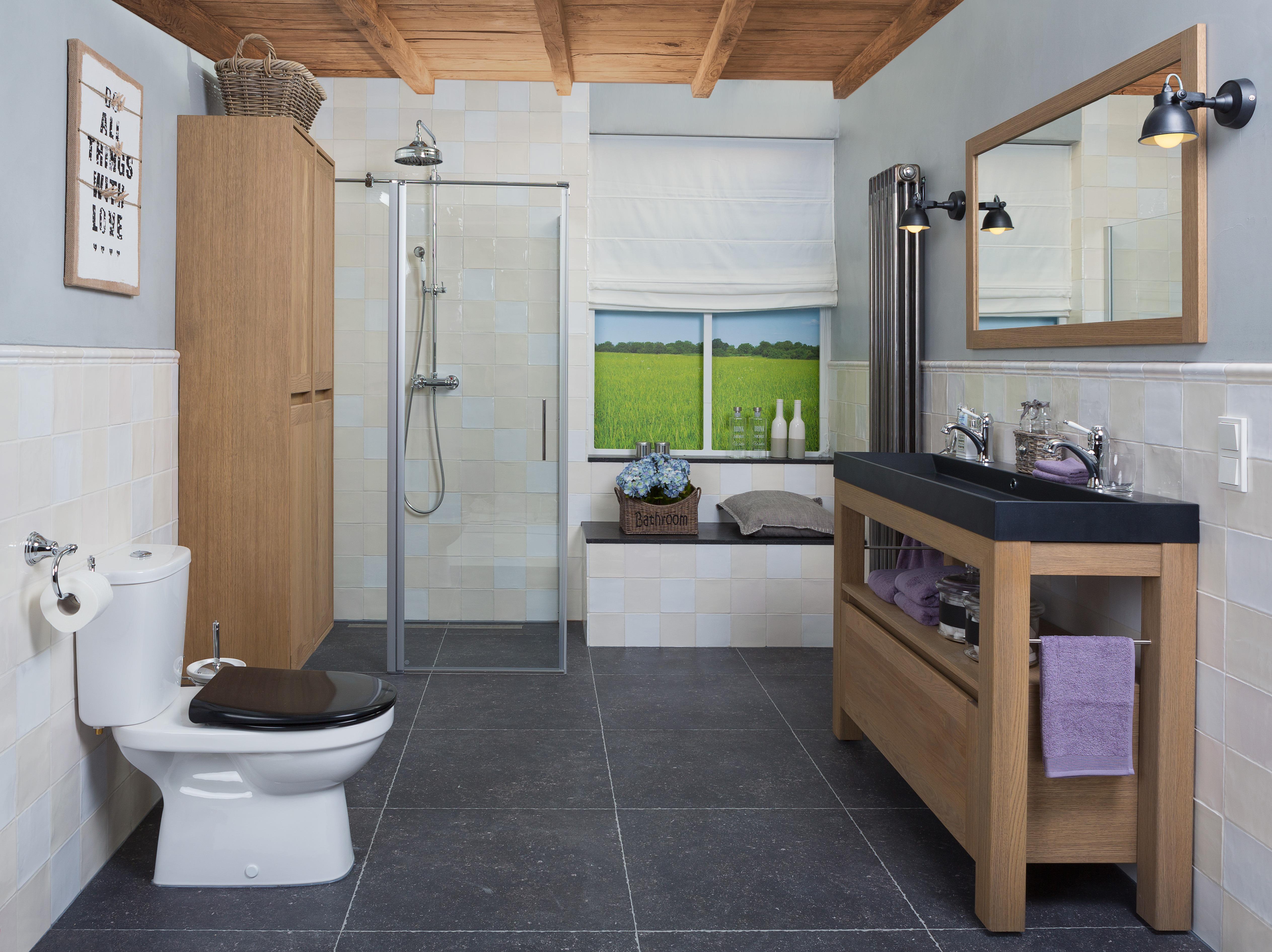 Landelijke stijl - Wiesenekker Badkamerconcepten