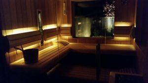 Wellness ruimte Whirlpool en sauna 1
