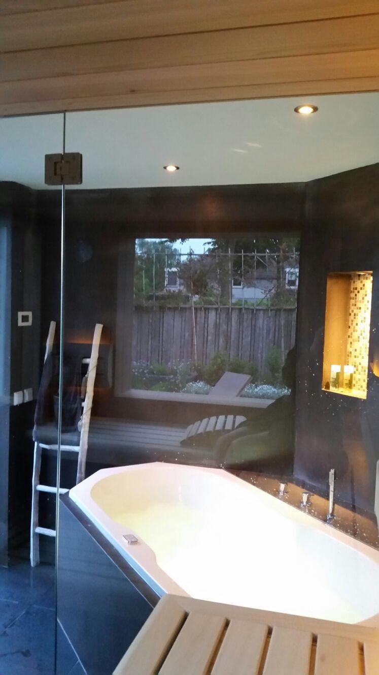 A5 wellness badkamer wiesenekker badkamerconcepten - Sauna whirlpool ...