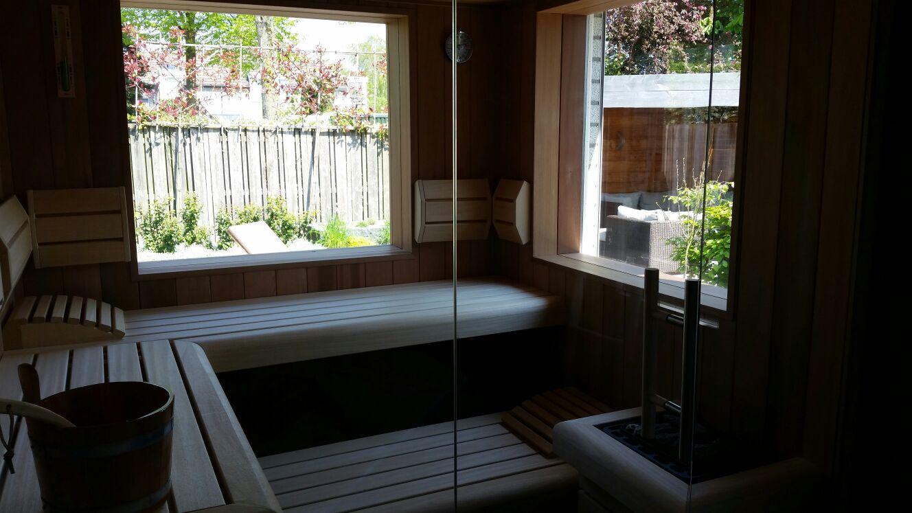 Sauna Inbouwen Badkamer : Sauna s van effegibi klafs infraworld bij hanolux jaar