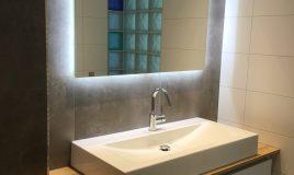 Optische badkamer vergroting