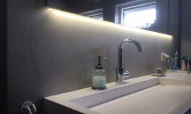 A-beton cire & tegel badkamer